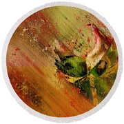 Lily My Lovely - S23ad Round Beach Towel