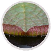Lilypad Abstract Round Beach Towel