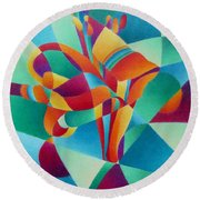 Essentially Lily Round Beach Towel