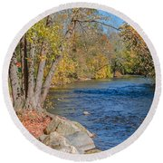 Lime Kiln Park   Round Beach Towel