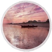 Limitless  Round Beach Towel by Betsy Knapp