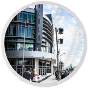 Lincoln Road Round Beach Towel