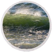 Linda Mar Beach - Northern California Round Beach Towel