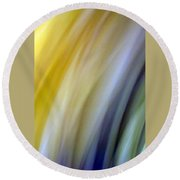 Lines And Colors - Amusement Round Beach Towel