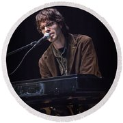 Linford Detweiler Of Over The Rhine Round Beach Towel