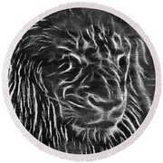 Lion - 2 Round Beach Towel