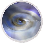 Liquid Eye Round Beach Towel
