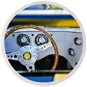 Lister Steering Wheel Round Beach Towel