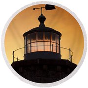 Lit House Round Beach Towel