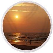 Litchfield Sunrise Round Beach Towel