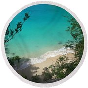 Little Bay Latitude Round Beach Towel
