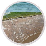 Little Wave Round Beach Towel