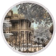 Littlefield Home Round Beach Towel by Jane Linders