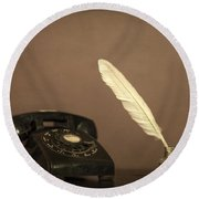 Lived To Tell Round Beach Towel