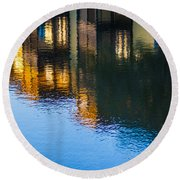 Living On The Water - 3 Round Beach Towel