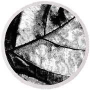 Living Structure I Round Beach Towel