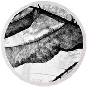 Living Structure IIi Round Beach Towel