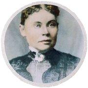 Lizzie Andrew Borden (1860-1927) Round Beach Towel