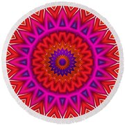 Loaded Round Beach Towel