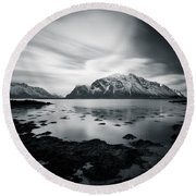 Lofoten Beauty Round Beach Towel