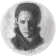 Loki Round Beach Towel