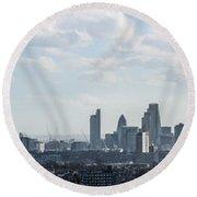 London Panorama Round Beach Towel