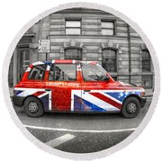 London's Calling Round Beach Towel