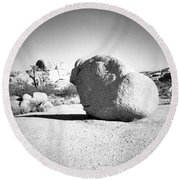 Lone Rock Round Beach Towel