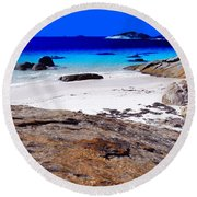 Lonesome Cove Round Beach Towel