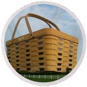 Longaberger Basket Company Nf Round Beach Towel