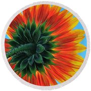 Longing For Summer Round Beach Towel