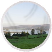 Looking Over Lough Eske - Donegal Ireland Round Beach Towel