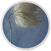 Looking Right  Round Beach Towel