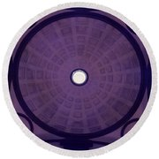 Looking Up Florence Round Beach Towel