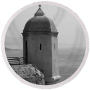 Lookout Tower Round Beach Towel