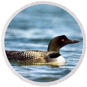 Loons 7 Round Beach Towel