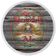 Lord Chesterfield Ale Round Beach Towel