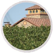 Lorimar Above The Vines Round Beach Towel