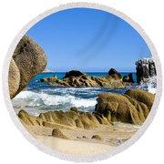 Los Cabos Round Beach Towel
