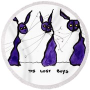 Lost Boys Round Beach Towel