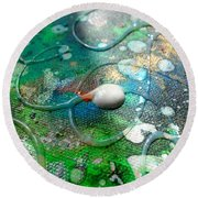 Lost In Space 2 Round Beach Towel