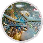 Lost In Space 5 Round Beach Towel