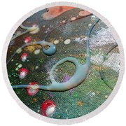 Lost In Space 6 Round Beach Towel