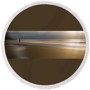 Lost Souls 2c Round Beach Towel