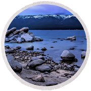 Lots Of Rocks Round Beach Towel