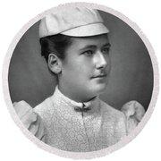 Lottie Dod (1871-1960) Round Beach Towel