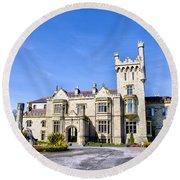 Lough Eske Castle - Ireland Round Beach Towel