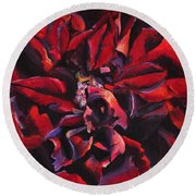 Louis Xiv Rose - Beauty Round Beach Towel