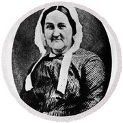 Louisa Whitman (d Round Beach Towel