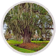 Louisiana Country Round Beach Towel